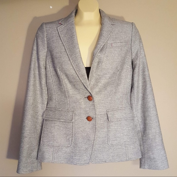 Banana Republic Jackets & Blazers - Banana Republic grey wool blazer jacket size 4